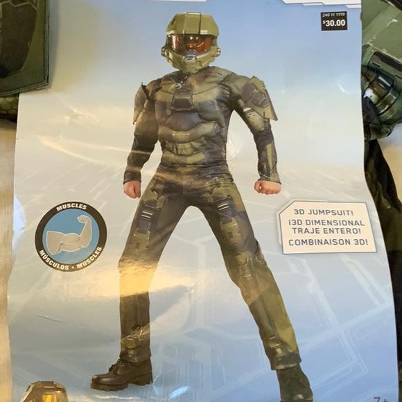 NWT Halo Master Chief costume